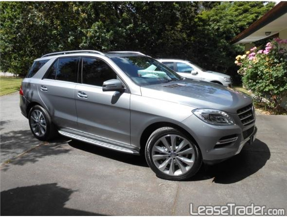Mercedes benz ml350 lease vehicle listings with all for Mercedes benz ml 2014