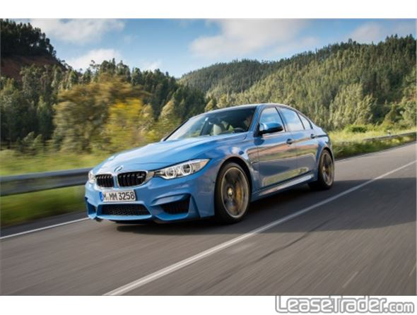 Bmw m3 lease rates 2016