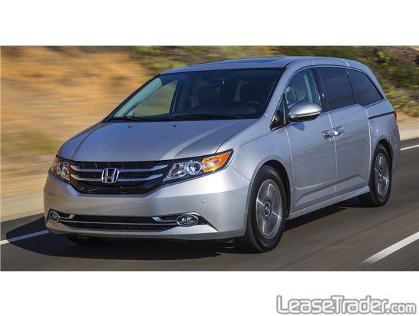 2015 honda odyssey lx for Honda odyssey lease price