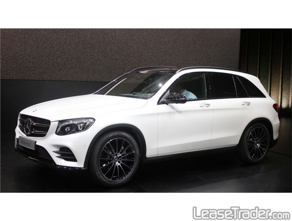 2016 mercedes benz glc300 suv for Mercedes benz for lease