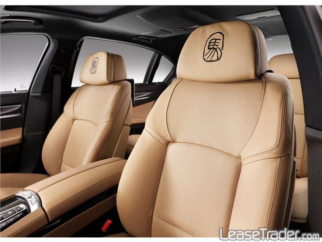 2015 BMW 740Li XDrive Interior