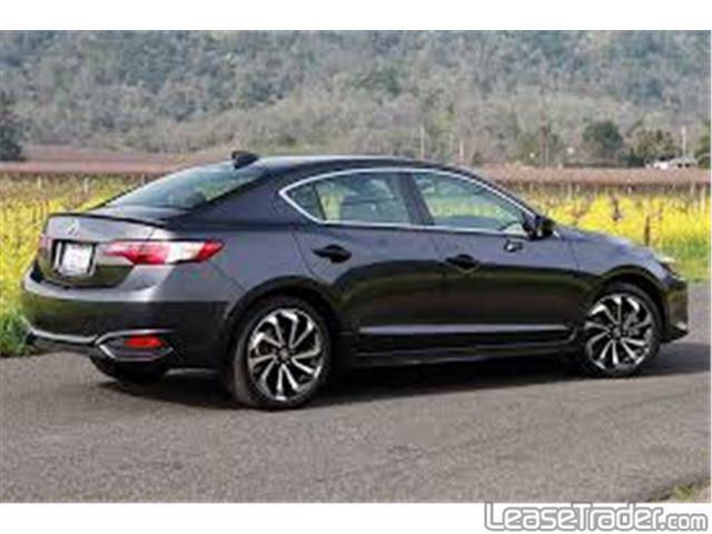 2016 Acura ILX 2.4L Sedan Rear