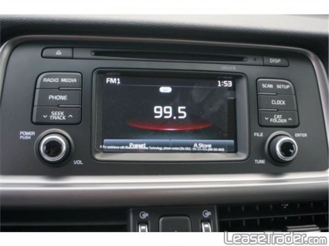 2016 Kia Optima LX 1.6T Sedan Dashboard