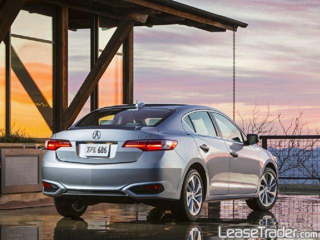 2017 Acura ILX 2.4L Sedan Rear