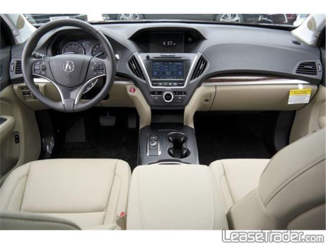 2017 Acura MDX 3.5L Dashboard