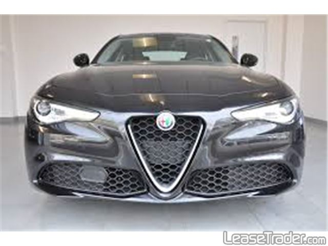2017 Alfa Romeo Giulia Sedan Rear