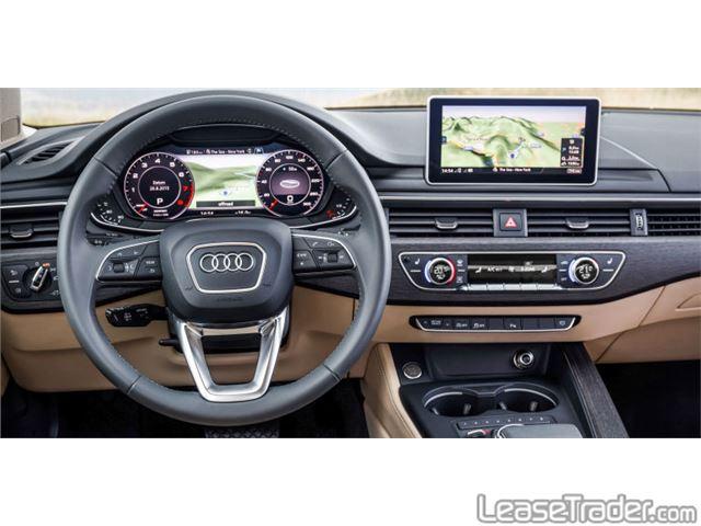 2017 Audi A4 Premium Dashboard