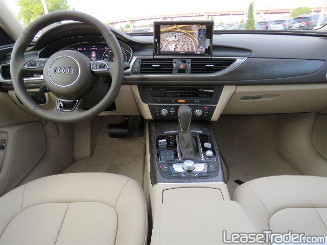 2017 Audi A6 Premium 2.0 TFSI Sedan Dashboard