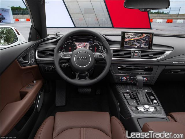 2017 Audi A7 Premium Plus 3.0 TFSI Dashboard