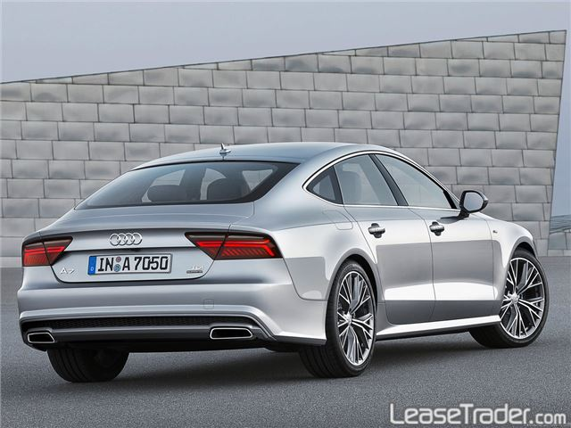 2017 Audi A7 Premium Plus 3.0 TFSI Rear