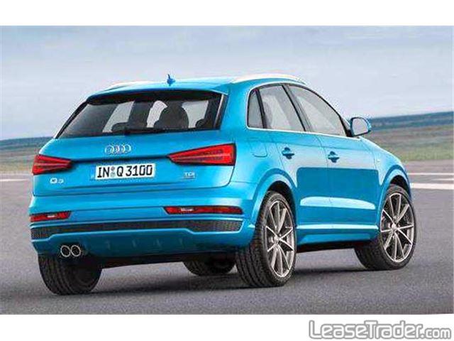 2017 Audi Q3 Premium Rear