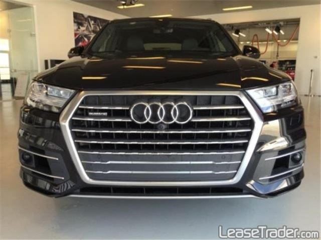 2017 Audi Q7 3.0 TFSI Premium Plus Front