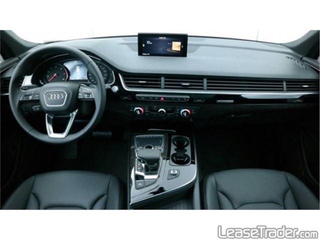 2017 Audi Q7 Premium Plus 3.0 TFSI Dashboard