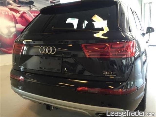 2017 Audi Q7 Premium Plus 3.0 TFSI Rear