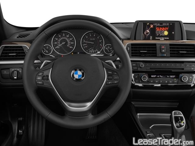 2017 BMW 330i Dashboard