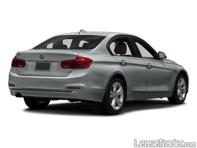 2017 BMW 330i Rear
