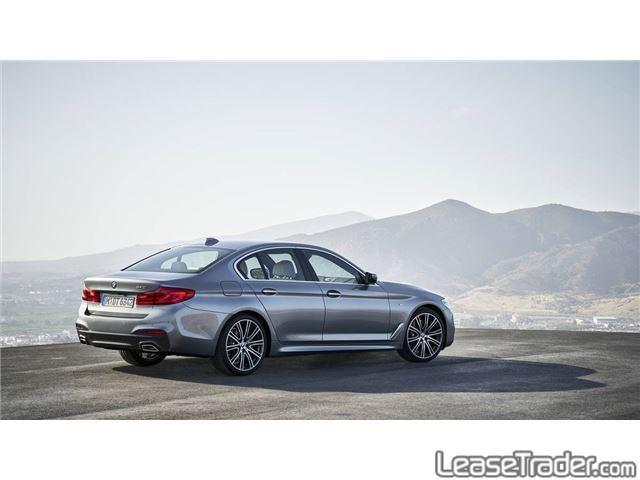 2017 BMW 530i xDrive Sedan Rear