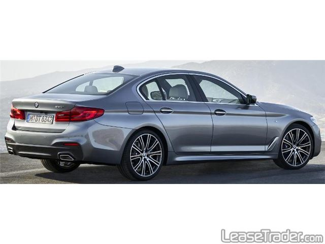 2017 BMW 540iA Sedan