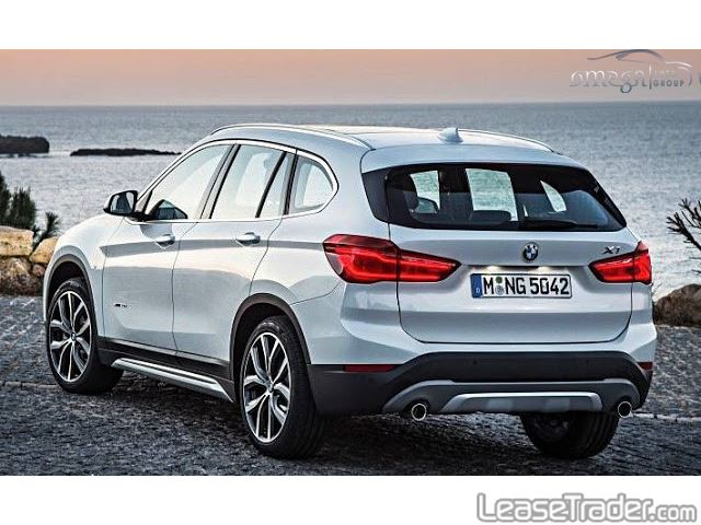 2017 BMW X1 sDrive28i Rear