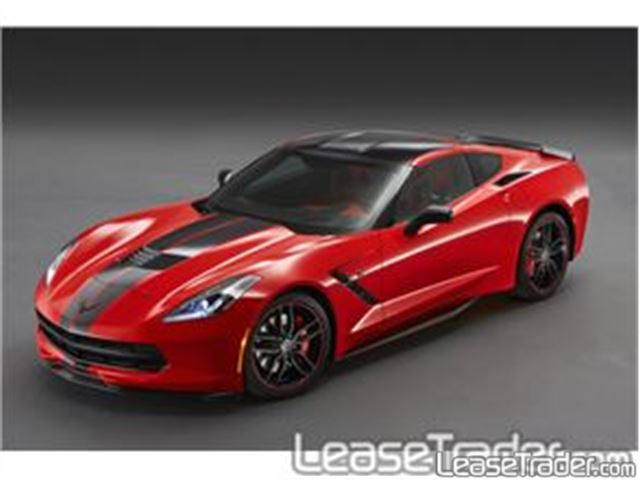 2017 Chevrolet Corvette Stingray 1LT Coupe Front