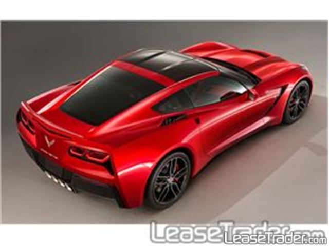 2017 Chevrolet Corvette Stingray 1LT Coupe Rear