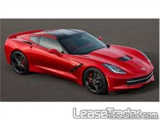 2017 Chevrolet Corvette Stingray 1LT Coupe Side