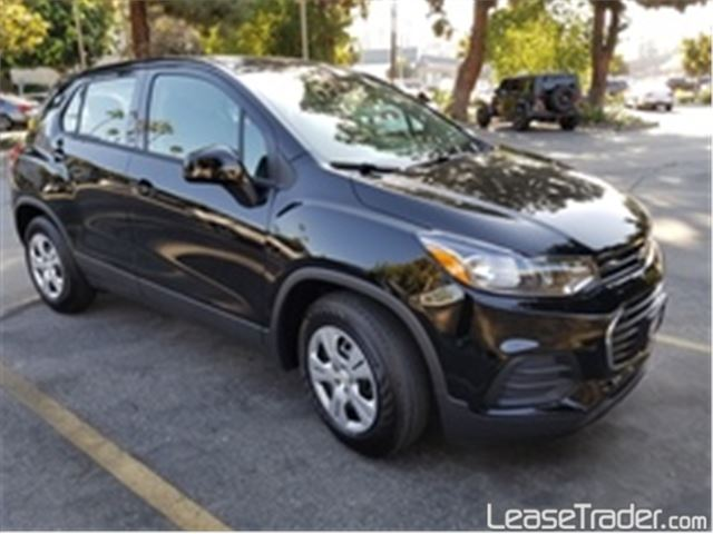 2017 Chevrolet Trax LS Side