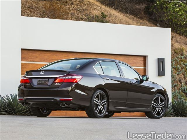 2017 Honda Accord LX  Rear