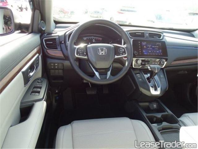 2017 Honda CRV LX Dashboard