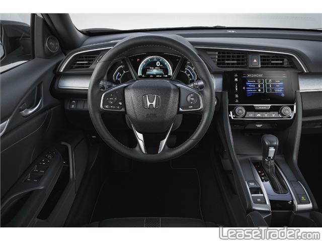 2017 Honda Civic LX Coupe Dashboard
