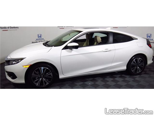 2017 Honda Civic LX Coupe Side