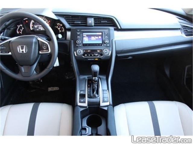 2017 Honda Civic LX Dashboard