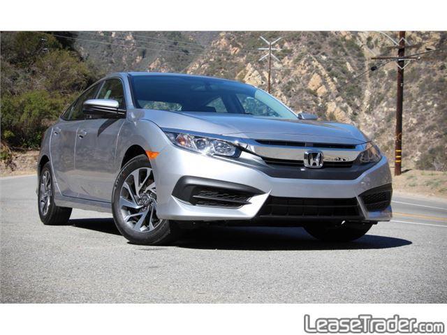 2017 Honda Civic LX Rear