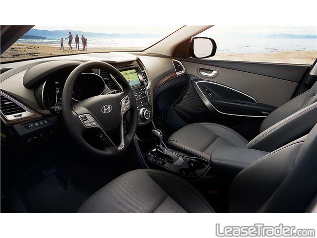 2017 Hyundai Santa Fe SPORT  Dashboard