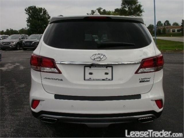 2017 Hyundai Santa Fe SPORT  Rear