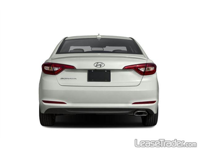 2017 Hyundai Sonata SE Sedan Rear
