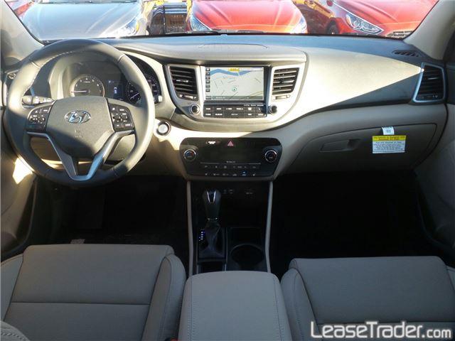2017 Hyundai Tucson SE Dashboard