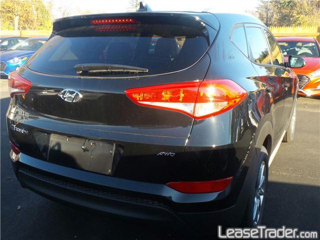 2017 Hyundai Tucson SE Rear
