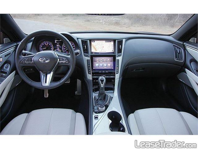 2017 Infiniti Q60 2.0t Interior
