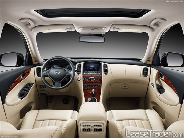 2017 Infiniti QX50 SUV Dashboard