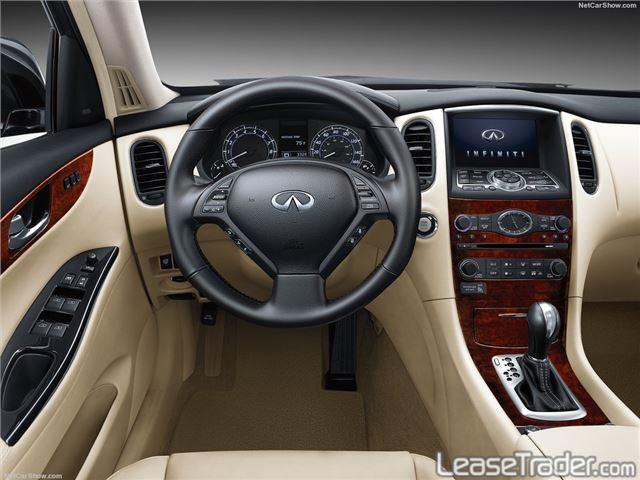 2017 Infiniti QX50 SUV Interior