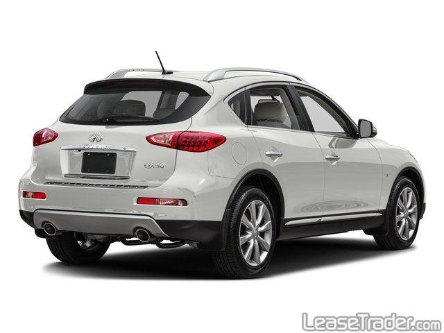 2017 Infiniti QX50 SUV Side