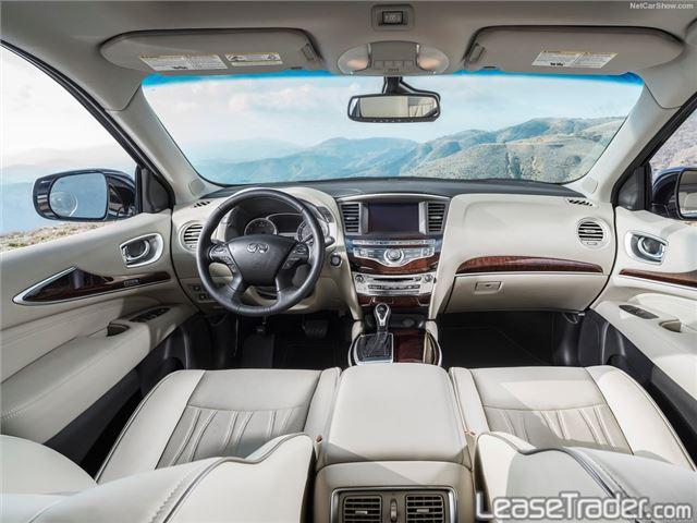 2017 Infiniti QX60 SUV Dashboard