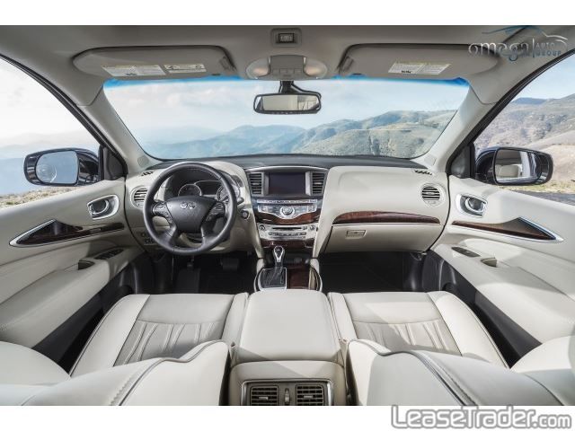 2017 Infiniti QX60 SUV Interior