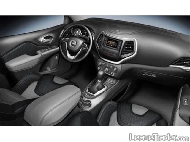 2017 Jeep Cherokee Limited Dashboard