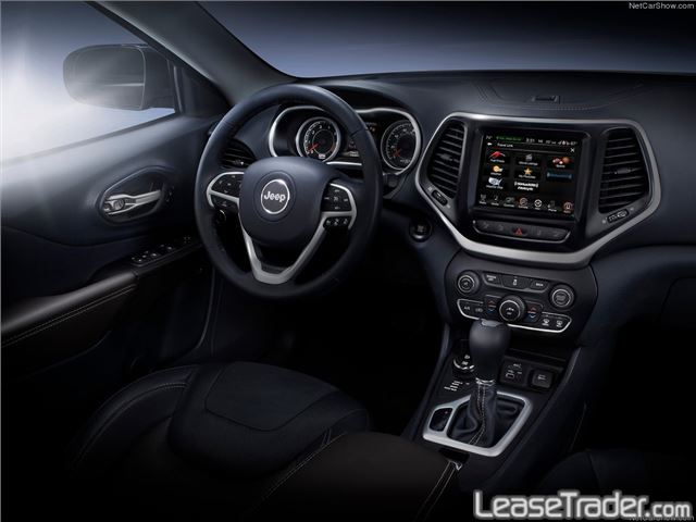 2017 Jeep Cherokee Limited Interior