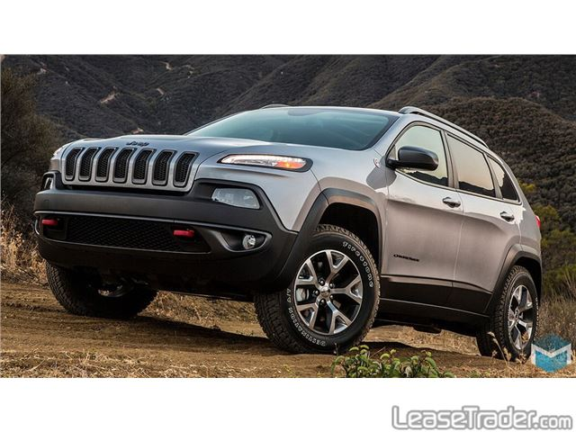 2017 Jeep Cherokee Limited Side