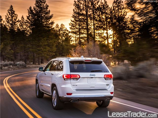 2017 Jeep Grand Cherokee LIMITED Rear