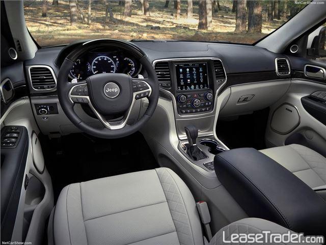 2017 Jeep Grand Cherokee Laredo Dashboard