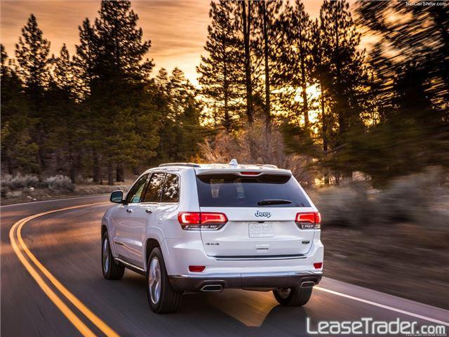 2017 Jeep Grand Cherokee Laredo Rear